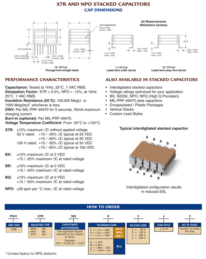 European SMPS capacitors how to order 1